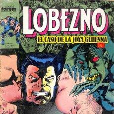 Cómics: LOBEZNO Nº 11 EL CASO DE LA JOYA GEHENNA - COMICS FORUM. Lote 90063780