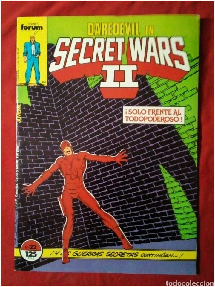 COMIC SECRET WARS II N° 22 (Tebeos y Comics - Forum - Daredevil)