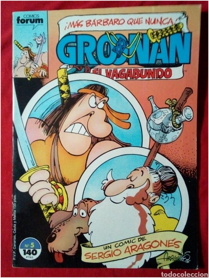 COMIC GROONAN EL VAGABUNDO N° 5 (Tebeos y Comics - Forum - Otros Forum)