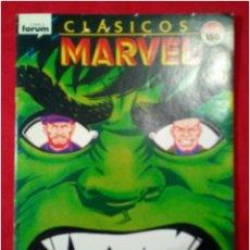Cómics: COMICS CLÁSICOS MARVEL HULK N° 14. Lote 90143670