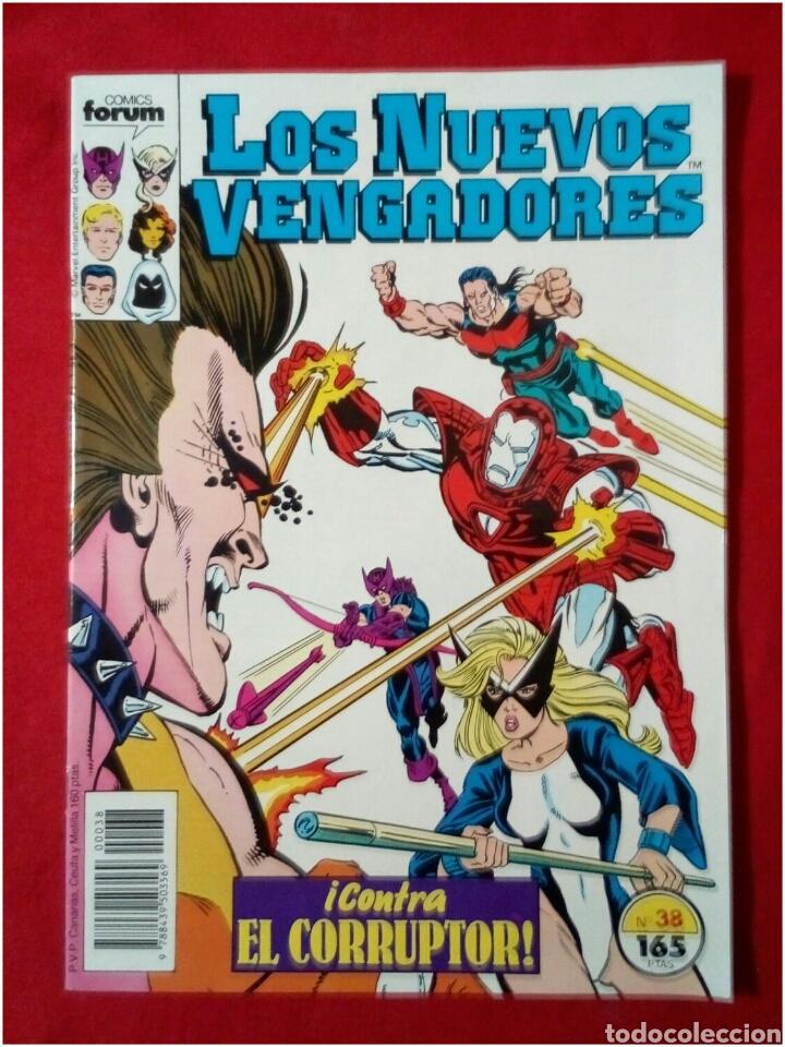 COMICS LOS NUEVOS VENGADORES CONTRA EL CORRUPTOR N° 38 (Tebeos y Comics - Forum - Vengadores)