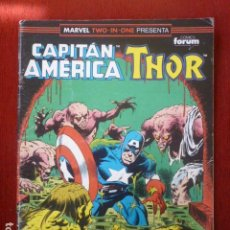 Cómics: COMIC CAPITÁN AMERICA/THOR. MARVEL TWO IN ONE Nº 68. . Lote 90179352