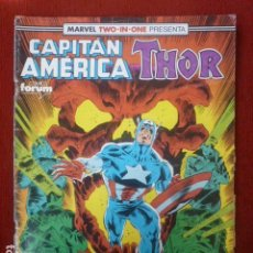 Cómics: COMIC CAPITÁN AMERICA/THOR. MARVEL TWO IN ONE Nº 66. . Lote 90179404