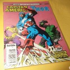 Cómics: CAPITAN AMERICA Y THOR 65 VOL 1 EXCELENTE ESTADO FORUM. Lote 90348691