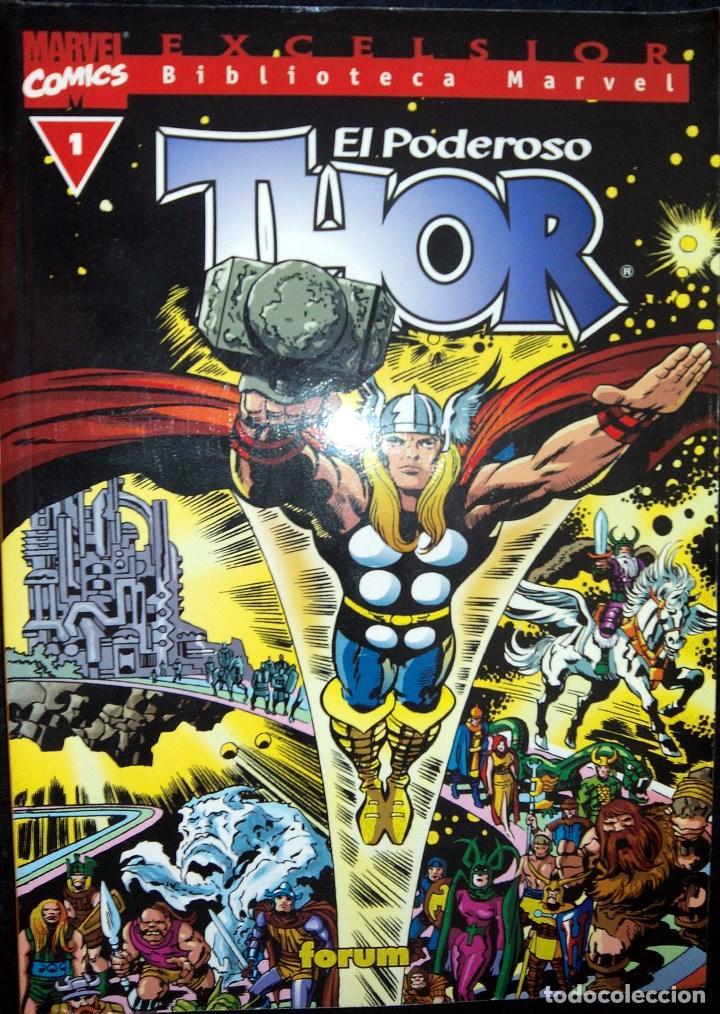 EL PODEROSO THOR LOTE DE 28 CÓMICS DEL Nº 1 AL 17 Y DEL 19 AL 29 EXCELSIOR BIBLIOTECA MARVEL FORUM (Tebeos y Comics - Forum - Thor)