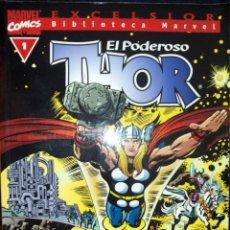 Cómics: EL PODEROSO THOR LOTE DE 28 CÓMICS DEL Nº 1 AL 17 Y DEL 19 AL 29 EXCELSIOR BIBLIOTECA MARVEL FORUM. Lote 90415384