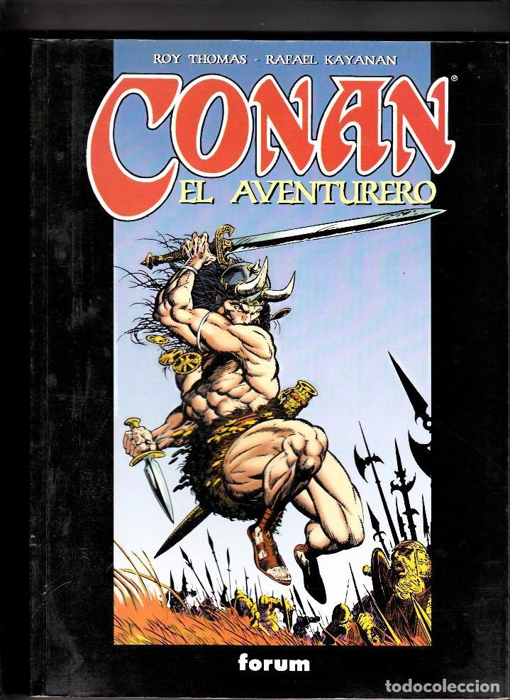 CONAN EL AVENTURERO - ROY THOMAS, RAFAEL KAYANAN - FORUM (Tebeos y Comics - Forum - Prestiges y Tomos)