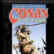 Comics : CONAN EL AVENTURERO - ROY THOMAS, RAFAEL KAYANAN - FORUM. Lote 90519365
