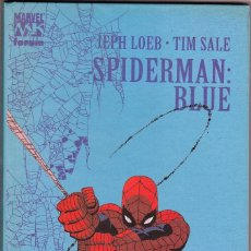Cómics: SPIDERMAN BLUE DE JEPH LOEB Y TIM SALE - TAPA DURA. Lote 90592350