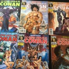 Cómics: CONAN 41,42,44,46,50,56. Lote 90617807