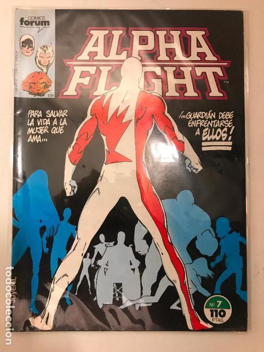 ALPHA FLIGHT V 1 VOL 1 Nº 7. FORUM 1985 (Tebeos y Comics - Forum - Alpha Flight)