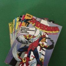 Cómics: SPIDERMAN - LOTE DE 10 RETAPADOS. Lote 90735975