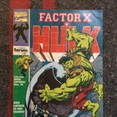 Cómics: FACTOR X Y HULK - Nº 3 - COLECCIÓN SERIES LIMITADAS. Lote 90753915