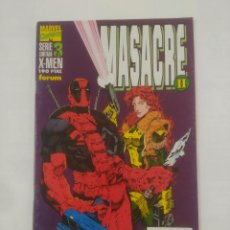 Cómics: MASACRE II. SERIE LIMITADA 3 DE 4. X-MEN. MARVEL COMICS. FORUM TDKC4. Lote 90964385