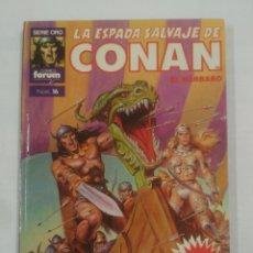 Cómics: LA ESPADA SALVAJE DE CONAN. EL BARBARO. SERIE ORO COMICS FORUM Nº 16. TDKC11. Lote 90967715