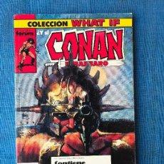 Cómics: CONAN EL BÁRBARO (COLECCIÓN WHAT IF), NÚMEROS: 11, 12, 13, 14 Y 15 - RETAPADO - FORUM - DEL 11 AL 15. Lote 90979590