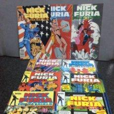 Cómics: NICK FURIA CONTRA S.H.I.E.L.D. - SERIE COMPLETA EN 9 EJEMPLARES , FORUM. Lote 91031520