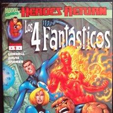 Cómics: LOS 4 FANTÁSTICOS HEROES VOL. 3 COLECCION CASI COMPLETA (FALTA EL N 3 ) + ANUAL 2001 LOTE 34 COMICS. Lote 91247460