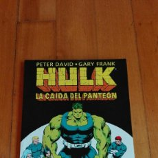 Cómics: COMIC HULK LA CAIDA DEL PANTEON. Lote 91278605