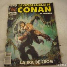 Fumetti: LA ESPADA SALVAJE DE CONAN Nº 93. Lote 91282825