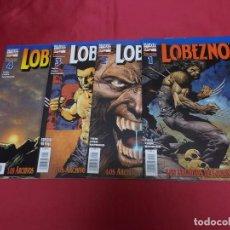 Cómics: LOBEZNO. LOS ARCHIVOS DE LOGAN. COMPLETA. DEL Nº 1 AL Nº 4. FORUM.. Lote 91350595