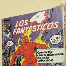 Cómics: LOS 4 FANTASTICOS. RETAPADO. CONTIENE CINCO NUMEROS DEL 61 AL 65. FORUM. - TDKC9. Lote 91405280