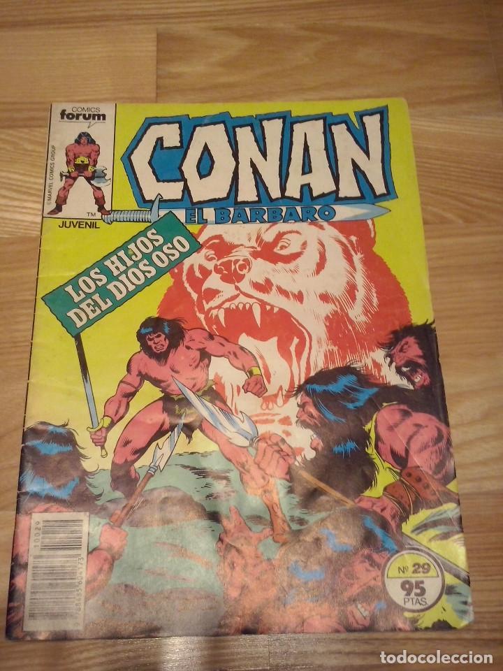 COMIC CONAN EL BARBARO FORUM PLANETA NUMERO 29 (Tebeos y Comics - Forum - Conan)