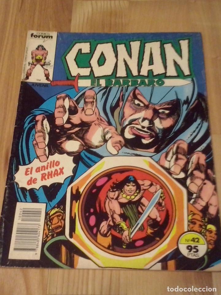 COMIC CONAN EL BARBARO FORUM PLANETA NUMERO 42 (Tebeos y Comics - Forum - Conan)