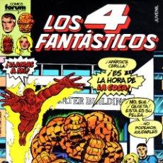 Cómics: LOS 4 FANTASTICOS VOLUMEN 1.FORUM.COMPLETA.134 NUMEROS.MBE.. Lote 49158819
