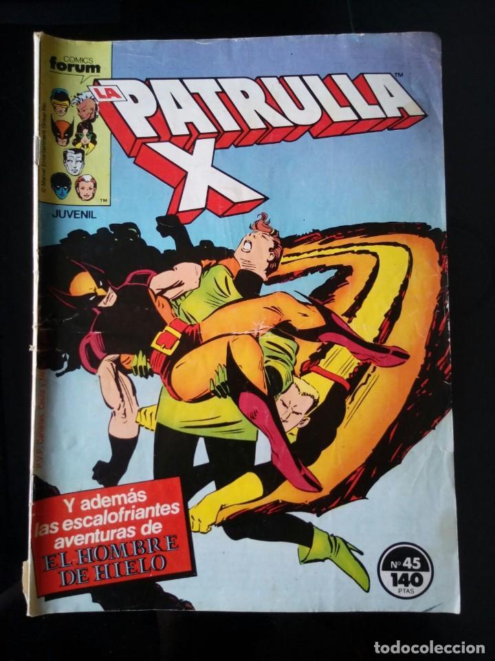 COMIC PATRULLA X 45. VOL 1. COMICS FORUM (Tebeos y Comics - Forum - Patrulla X)