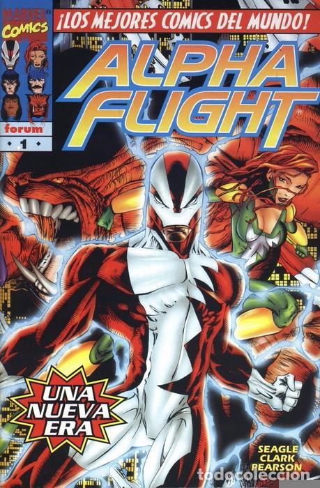 ALPHA FLIGHT VOL. 2 Nº 1 FORUM - EJEMPLAR NUEVO (Tebeos y Comics - Forum - Otros Forum)
