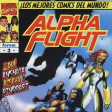 Cómics: ALPHA FLIGHT VOL. 2 Nº 3 FORUM IMPECABLE. Lote 92908850
