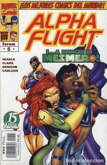 ALPHA FLIGHT VOL. 2 Nº 5 FORUM IMPECABLE (Tebeos y Comics - Forum - Alpha Flight)