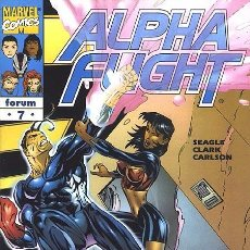 Cómics: ALPHA FLIGHT VOL. 2 Nº 7 FORUM IMPECABLE. Lote 92909085