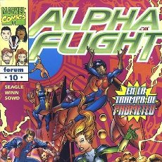 Cómics: ALPHA FLIGHT VOL. 2 Nº 10 FORUM IMPECABLE. Lote 92909195