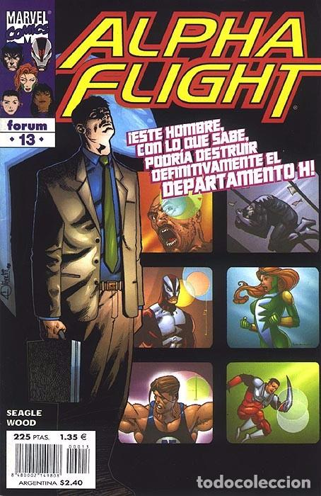 ALPHA FLIGHT VOL. 2 Nº 13 FORUM IMPECABLE (Tebeos y Comics - Forum - Alpha Flight)