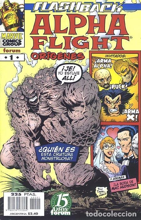 ALPHA FLIGHT ORÍGENES FORUM IMPECABLE (Tebeos y Comics - Forum - Alpha Flight)