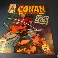 Cómics: CONAN EL BARBARO 36 EXCELENTE ESTADO FORUM. Lote 92953349