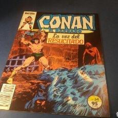 Cómics: CONAN EL BARBARO 34 EXCELENTE ESTADO FORUM. Lote 92953393