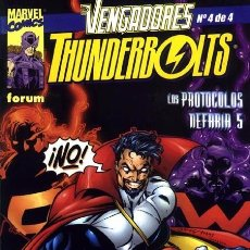 Cómics: VENGADORES - THUNDERBOLTS VOL.1 Nº 4 FORUM IMPECABLE . Lote 93179820