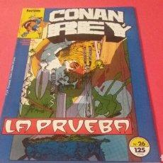 Cómics: CONAN REY 26 EXCELENTE ESTADO FORUM. Lote 231330510