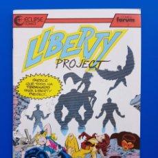 Cómics: LIBERTY PROJECT N° 3 ECLIPSE COMICS FORUM. Lote 93296255
