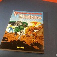 Cómics: BIBLIOTECA MARVEL LOS 4 FANTASTICOS 16 EXCELENTE ESTADO FORUM. Lote 93346252
