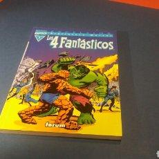 Cómics: BIBLIOTECA MARVEL LOS 4 FANTASTICOS 1 EXCELENTE ESTADO FORUM. Lote 93348734