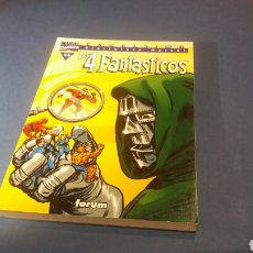 Cómics: BIBLIOTECA MARVEL LOS 4 FANTASTICOS 3 EXCELENTE ESTADO FORUM. Lote 93348888