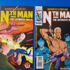 Cómics: LOTE NTH MAN THE ULTIMATE NINJA N°S 1 Y 2 FORUM MARVEL . Lote 93405883