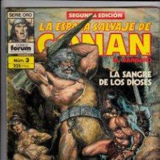 Cómics: LA ESPADA SALVAJE DE CONAN 2ª EDICION Nº 3 MARVEL FORUM 1989. Lote 93565555
