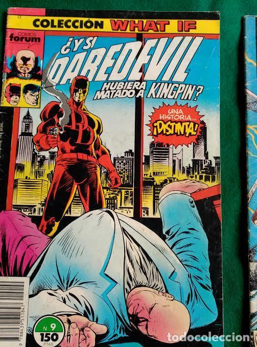 DAREDEVIL Nº 9 - COLECCION WHAT IF - FORUM (Tebeos y Comics - Forum - Daredevil)