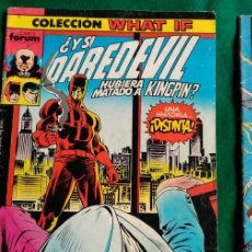 Cómics: DAREDEVIL Nº 9 - COLECCION WHAT IF - FORUM. Lote 93651065