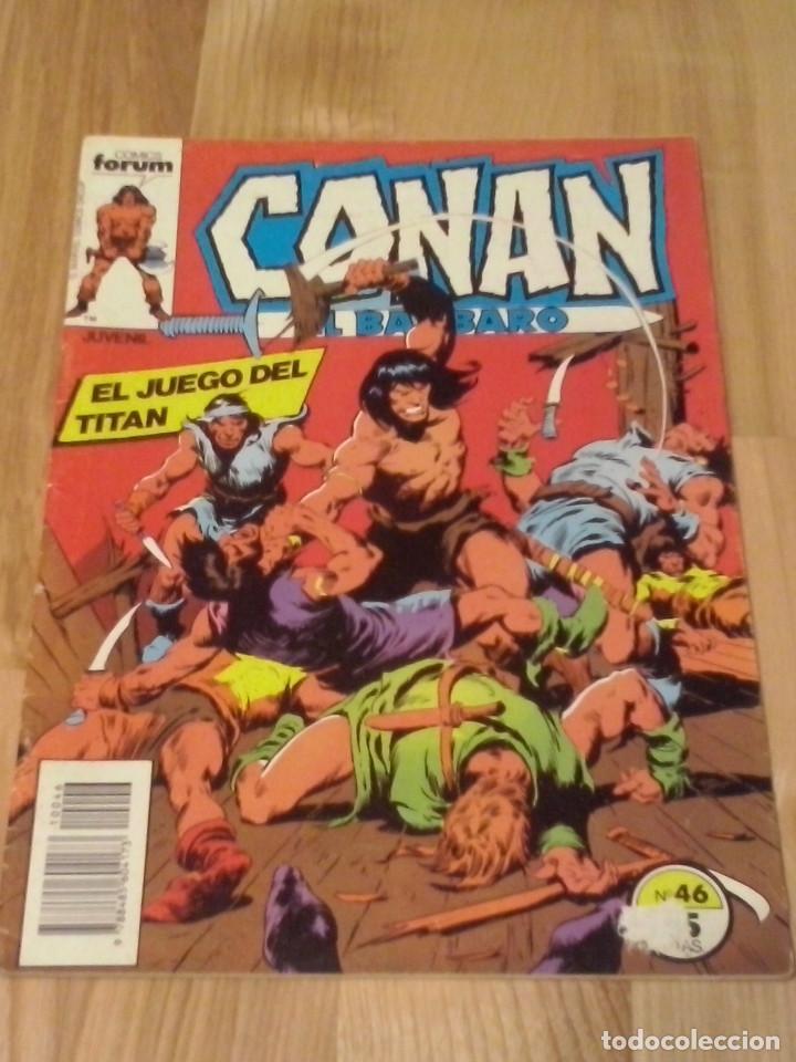 COMIC CONAN EL BARBARO FORUM PLANETA NUMERO 46 (Tebeos y Comics - Forum - Conan)